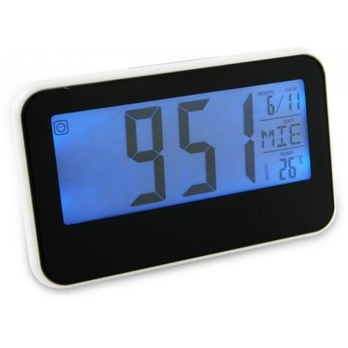 reloj con sensor alarma despertador digital de mesa 24