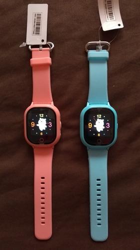 reloj configurado smart watch gps localizador ctra agua niño