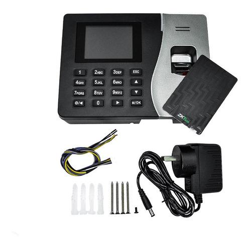 reloj control acceso personal  huellas tarjetas k20c