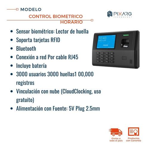 reloj control personal biometrico asistencia huella anviz