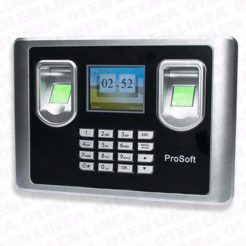 reloj control personal doble biometrico huella hysoon c22a