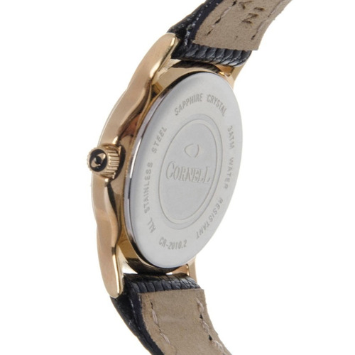 Reloj Cornell Swiss 1870 Sumergible Cr 2013 2tw Acero 100