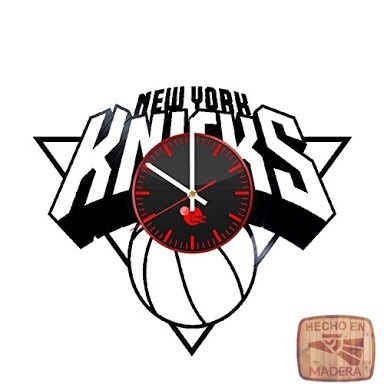Reloj Corte Laser 0512 Knicks Nombre Del Equipo 69900 En