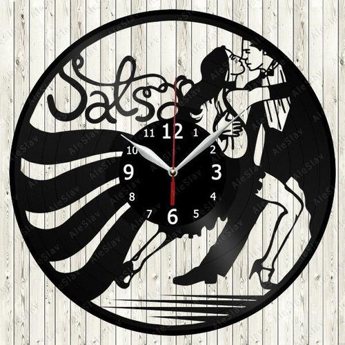 reloj corte laser 2762 baile pareja bailando salsa