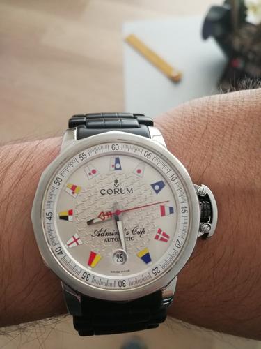 reloj corum admirals cup trophy posible toma/cambio