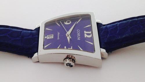 reloj corum trapeze, automatico edición limitada (inv 1220)