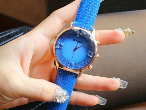reloj cristal cielo estrellado lote 6 piezas