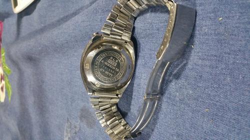 reloj cronografo citizen bull head impecable