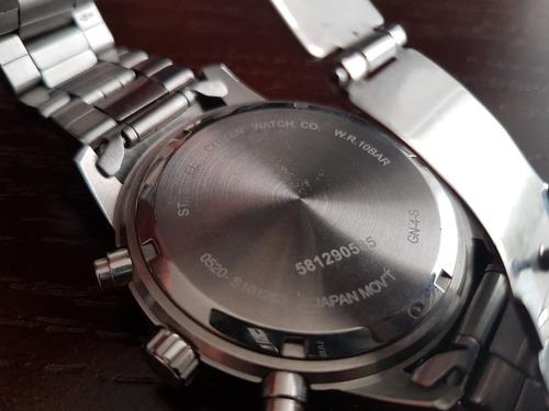 reloj cronografo citizen en perfecto estado. caja original.