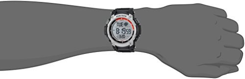reloj cronografo digital negro armitron sport 40 8252blk par