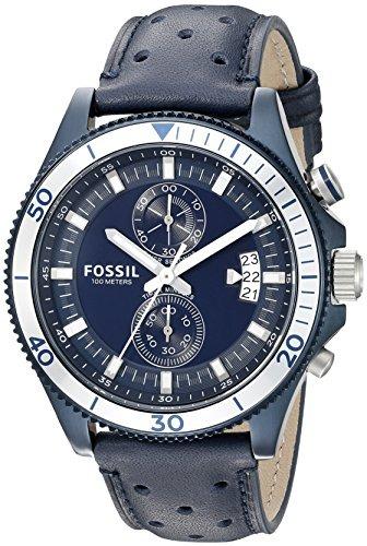b3dbefc5fdd7 Reloj Cronografo Para Hombre Fossil Ch3012 Wakefield Con Ban ...