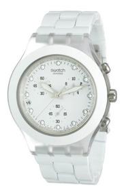 Reloj Cronógrafo Svck4045ag Blanco PhombrePlástico Swatch HY2IWE9D