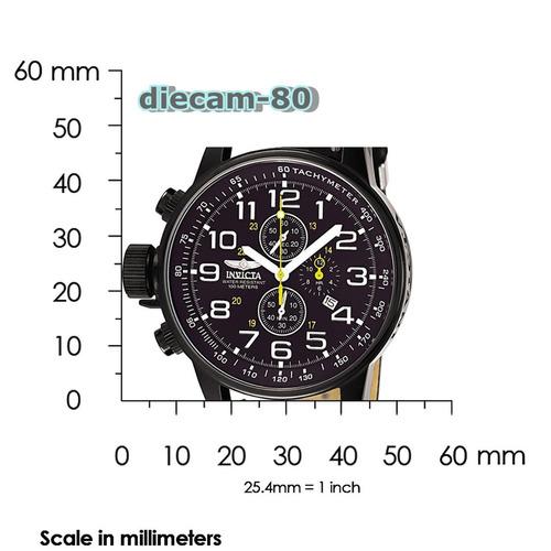 reloj cronometro 1/20 invicta 3332 militar importado u.s.a.