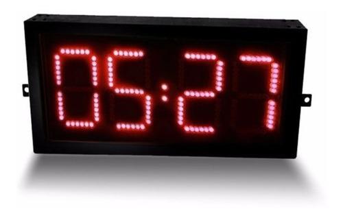 reloj cronometro digital para cancha de 50cm x 25cm de alto