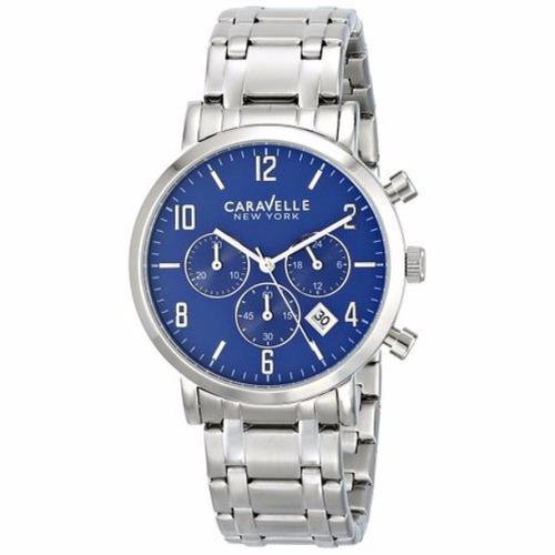 reloj cronometro hombre caravelle new york by bulova 43a139