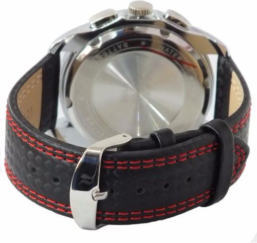 reloj cronometro miyota 1/10 skmei 9106 calendario