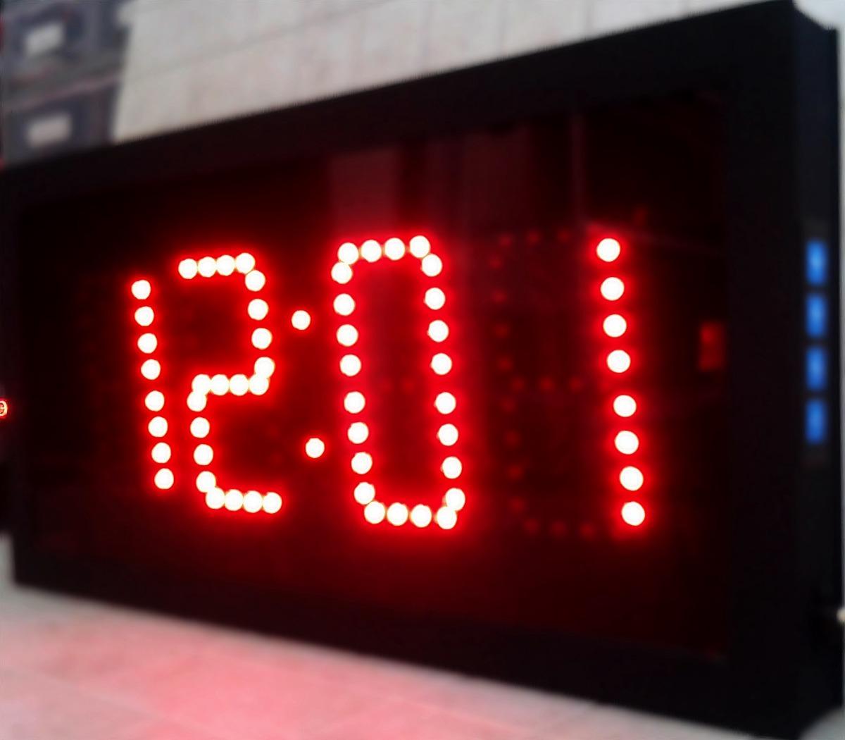 d4066dcba reloj cronómetro temporizador digital de leds digitos 10cm. Cargando zoom.
