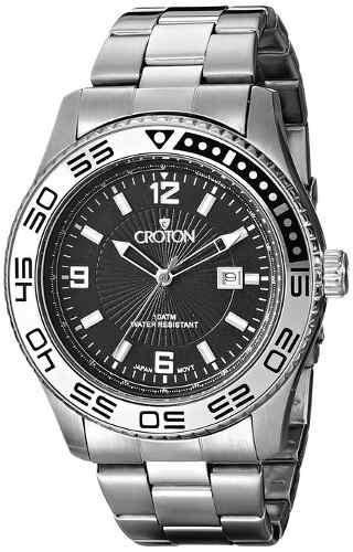 reloj croton wcro317 plateado
