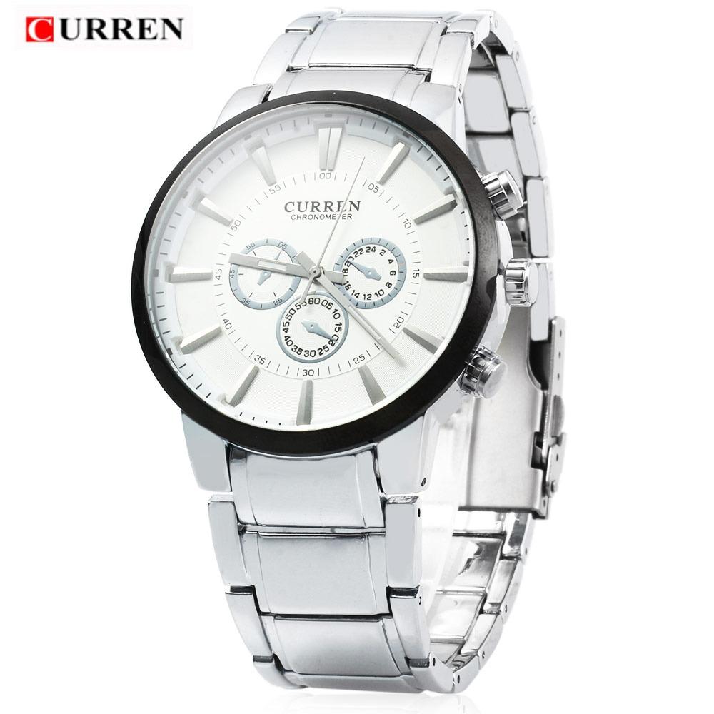 reloj cuarzo de acero curren 8001 para hombres con decorar m. Cargando zoom. 0347cb72200a