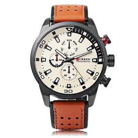 47f657fedff6 Reloj Pulsar Cuarzo Hombre - Reloj Unisex Curren en Mercado Libre México