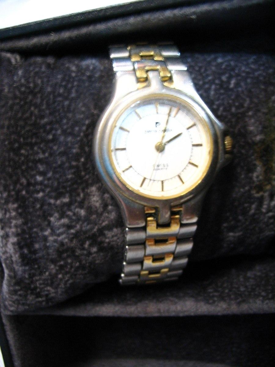 Mujer Cuarzo Oro Caja590 Swis Acero Y Cardin Malla Pierre Reloj 00 BoCxdre