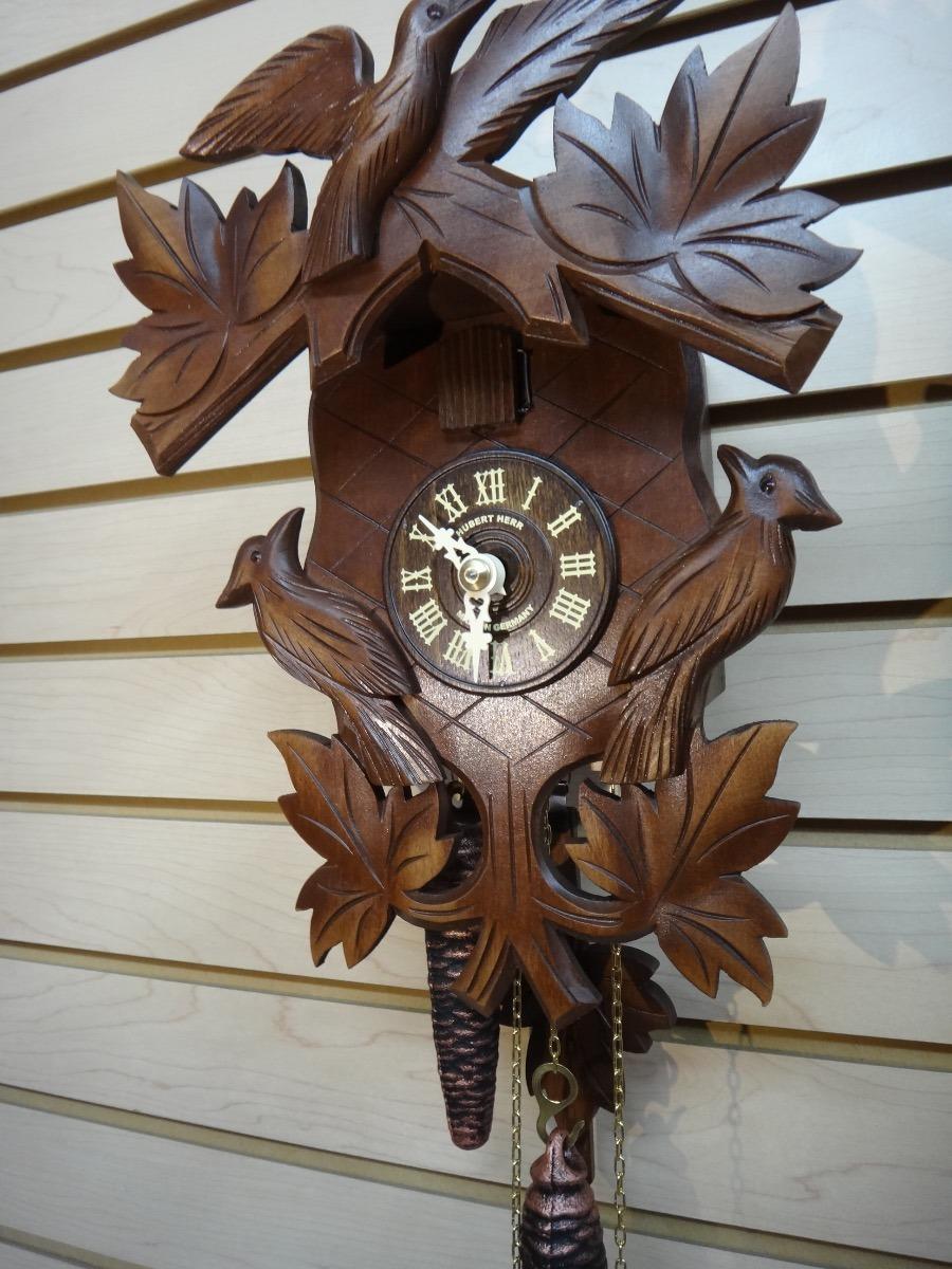 d95d9aed76f0 Reloj Cucú Alemán Hubert Herr Modelo 1004 ¡nuevo! -   5