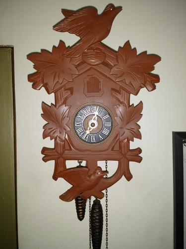 reloj cucu cuco aleman mecanico entrega hoy