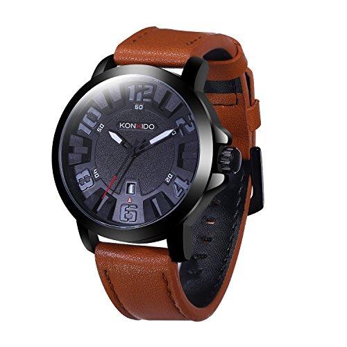 ec5a88e5282e reloj cuero hombre correa cuero cuarzo analógico relojes –   223.990.  Download Image 500 X 500