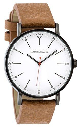 9f7f6f7a2c0d Reloj Cuero Pu Daimiel Y Camel Minimalista Hombres Daniel Da ...