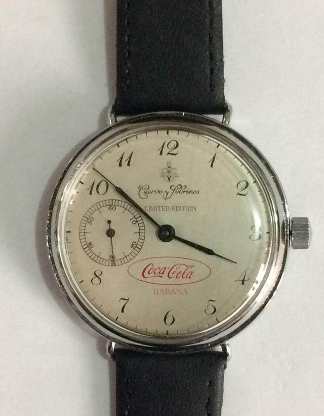 9d3c91722 reloj cuervo y sobrinos habana logo de coca cola de los 50s. Cargando zoom.