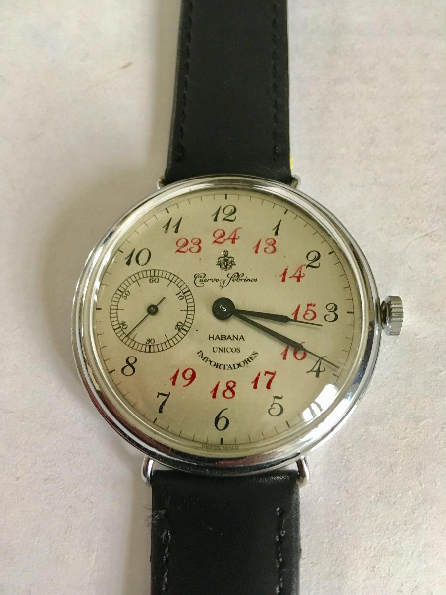 900 Sobrinos Habana Importadores Suizo6 Y 00 Únicos Reloj Cuervo wvmnO0N8