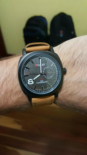 reloj curren cuarzo, análogo, elegante