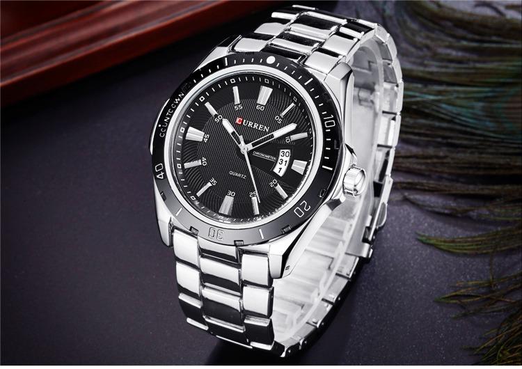 77b03dd12360 Reloj Curren Para Hombre Con Estuche -   80.000 en Mercado Libre