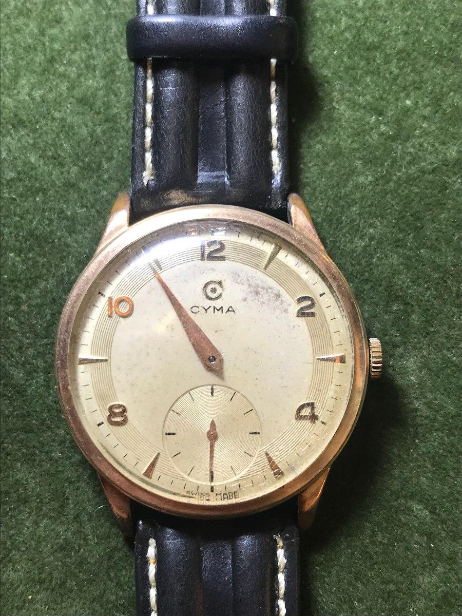 a058e510e610 reloj cyma acero y oro. Cargando zoom.