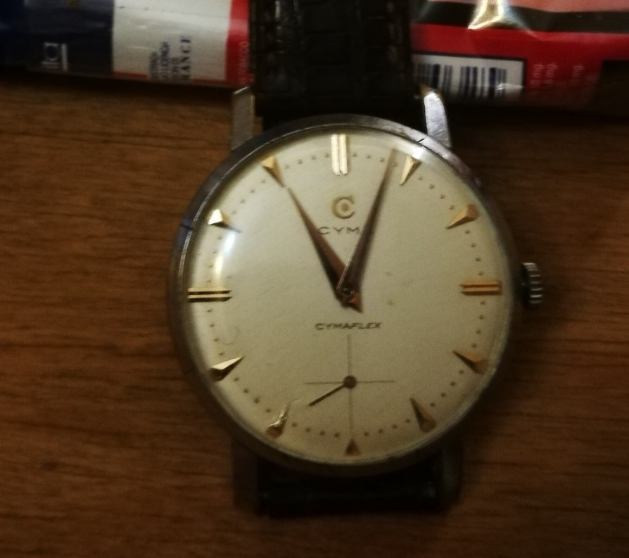 d870fe4a6f39 reloj cyma cimaflex. impecable. Cargando zoom.