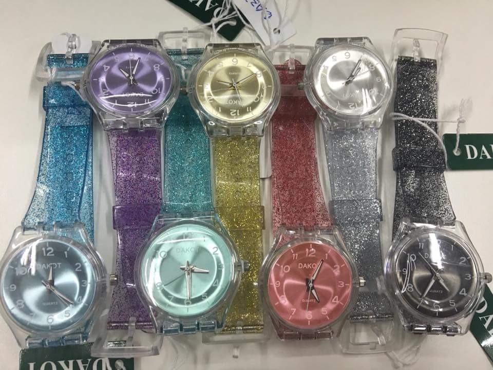 Nueva Glitter Reloj Dakot Glitter Reloj Colección Dakot FJcl3uT15K