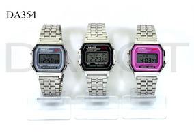 Dakot Vintage Casio Malla En 80 Acero Plaza Reloj T Once 45Aj3RL