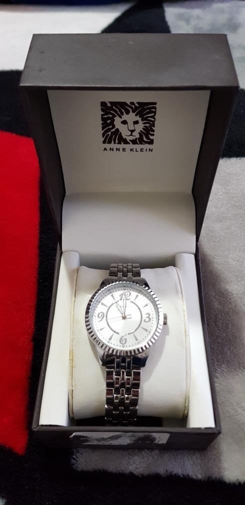 77dcdc8f95cb Reloj Dama Ak 1759 Anne Klein Original Color Plata ¡nuevo ...