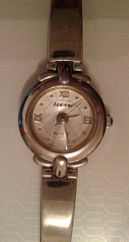 reloj dama appear quartz ,impecable!