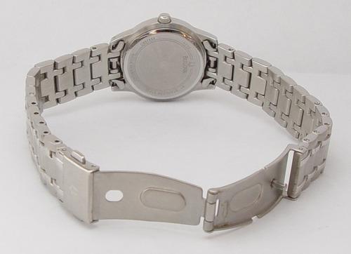 reloj dama bulova acero inoxidable 96l150