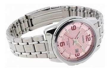 reloj dama casio acero ltp-1314d-5a original