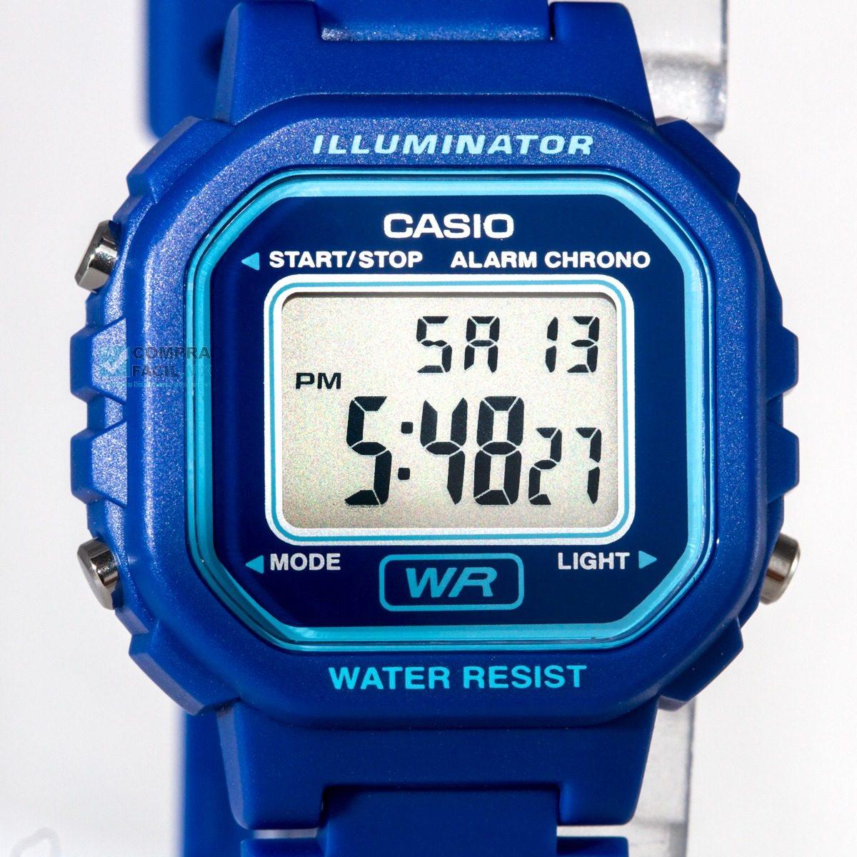 95eea0c437af Reloj Dama Casio La20 Azul - Diseño Clásico - Cfmx -   549.00 en ...
