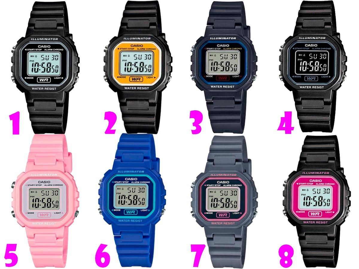 5770ba5907f7 reloj dama casio la20 - diseño clásico- varios colores- cfmx. Cargando zoom.