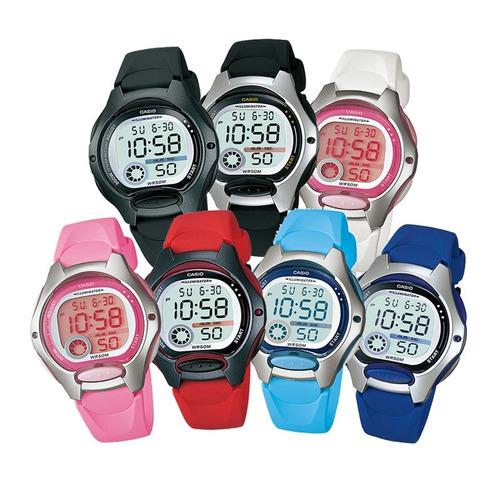 reloj dama casio lw200 caucho - 100% original - cfmx -