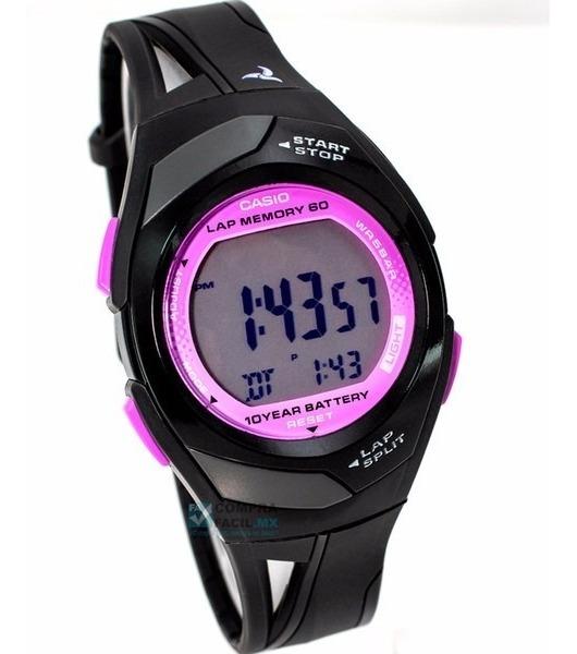 Reloj 60 Corredor Dama Phys Casio Str300 Memorias Para 7Ybfgy6