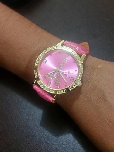 reloj dama edición parís 2017 vibrantes colores