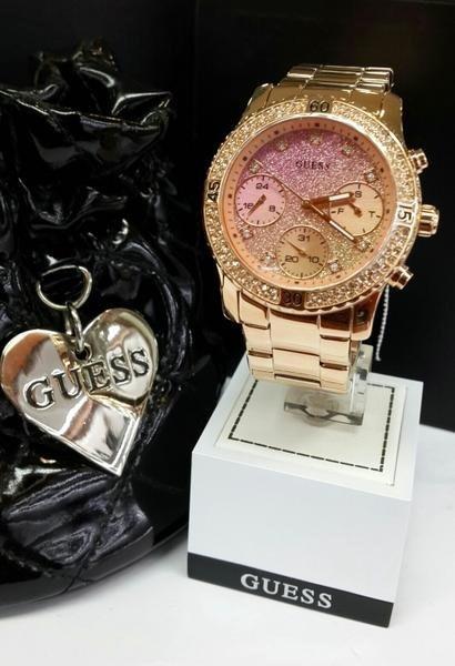 Reloj Dama Guess W0774l3 Agente Oficial Envio Sin Cargo M -   10.740 ... 0732723ca8db
