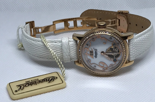 reloj dama ingersoll automático, nuevo
