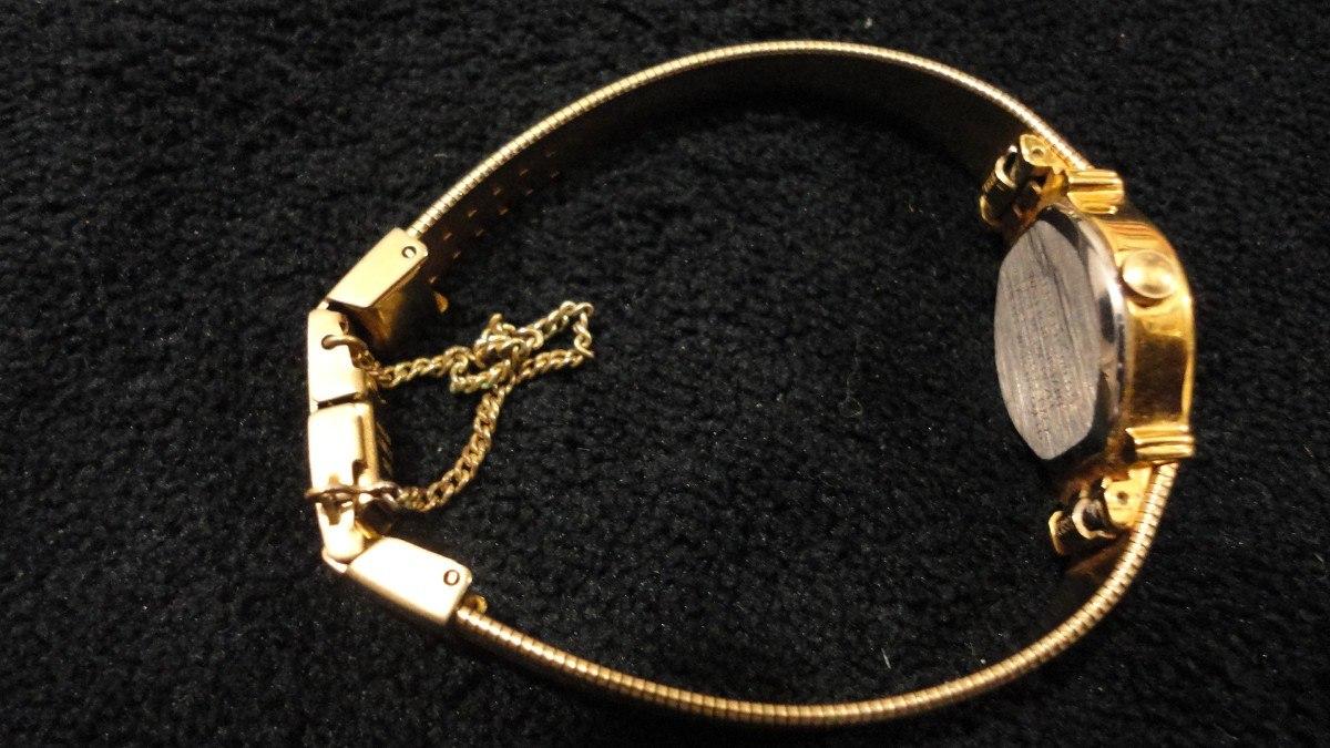 Reloj Dama Japones Orient Quartz Dorado 3 000 00 En