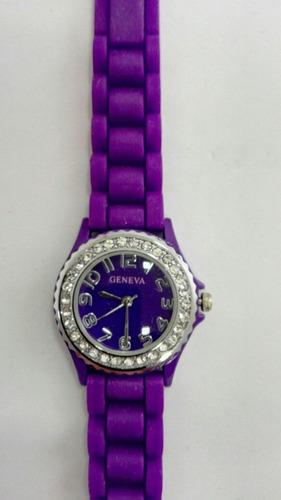 reloj dama marca geneva 10026t importado usado sin estuche